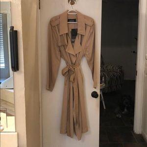 Badgley Mischka trench coat